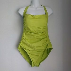 Tommy Bahama halter one piece bathing suit sz:12